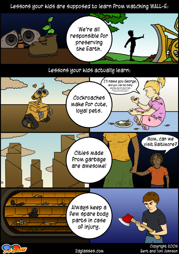 Lessons from Wall-E